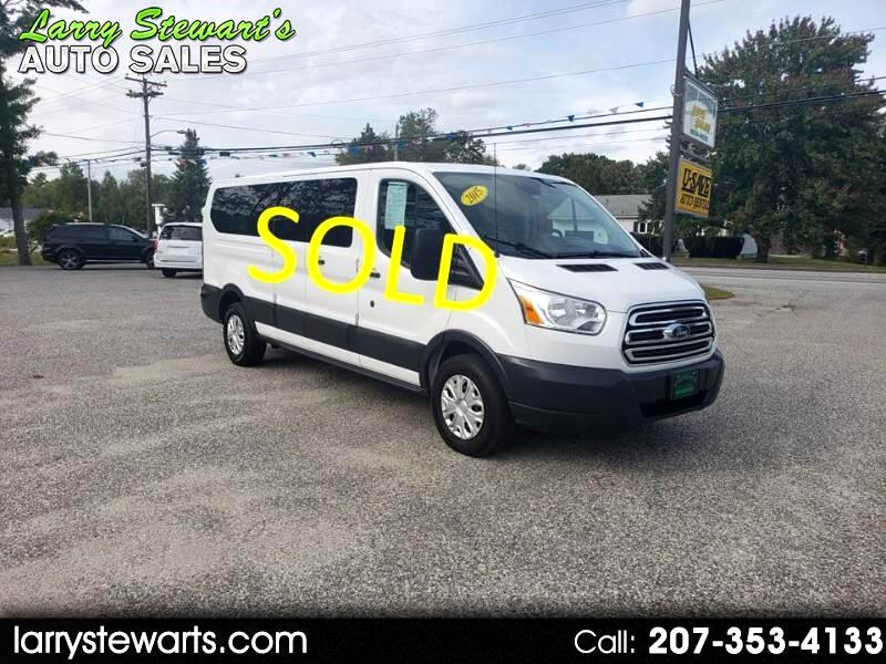 """2015 Ford Transit Wagon T-350 148"""" Low Roof XLT Swing-Out RH Dr 12 Passeng"""