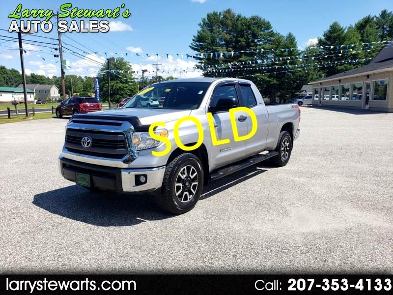 Toyota Tundra 4WD Truck Double Cab 5.7L V8 6-Spd AT SR5 (Natl) 2014