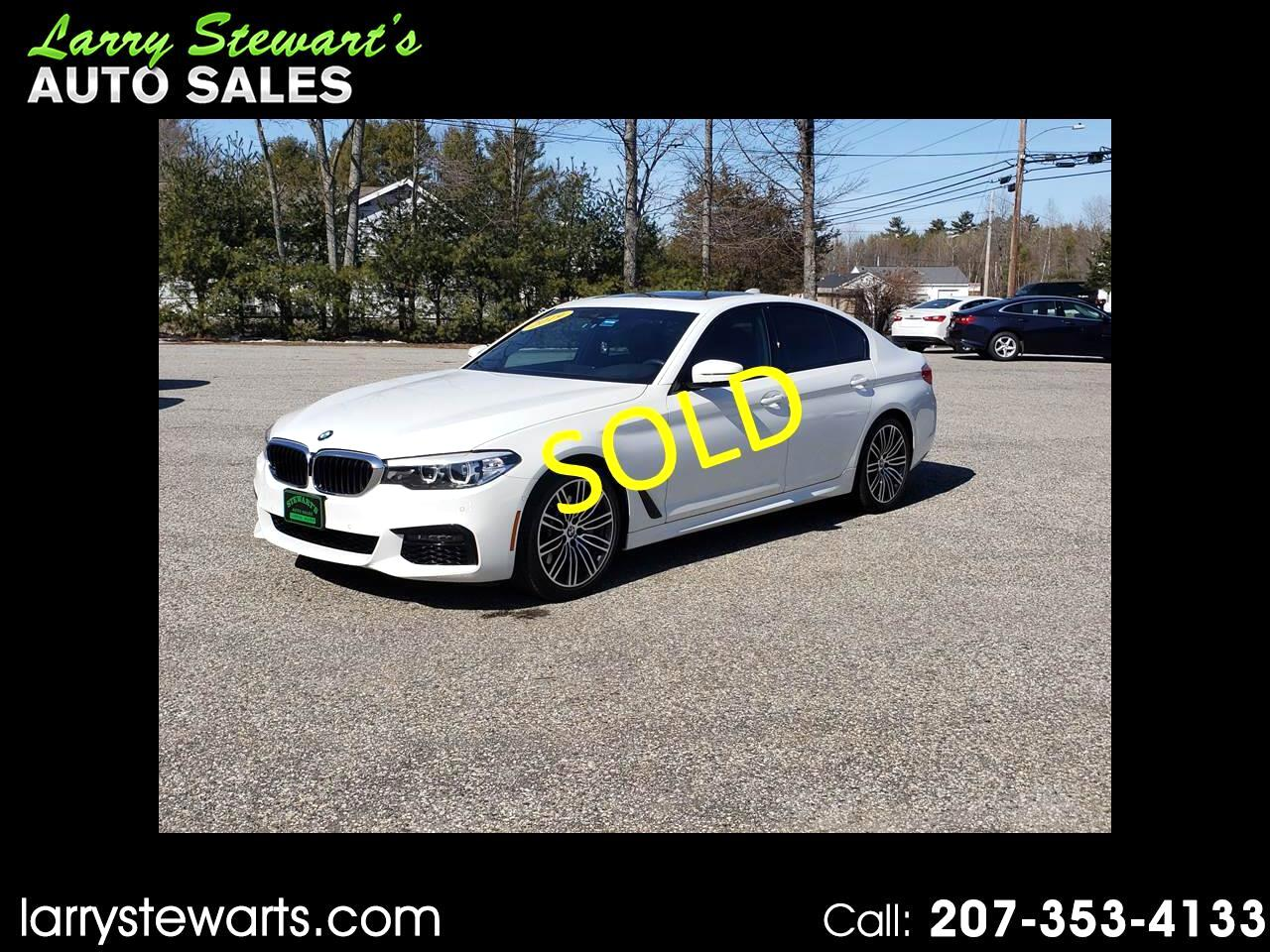 BMW 5 Series 540i xDrive Sedan 2019