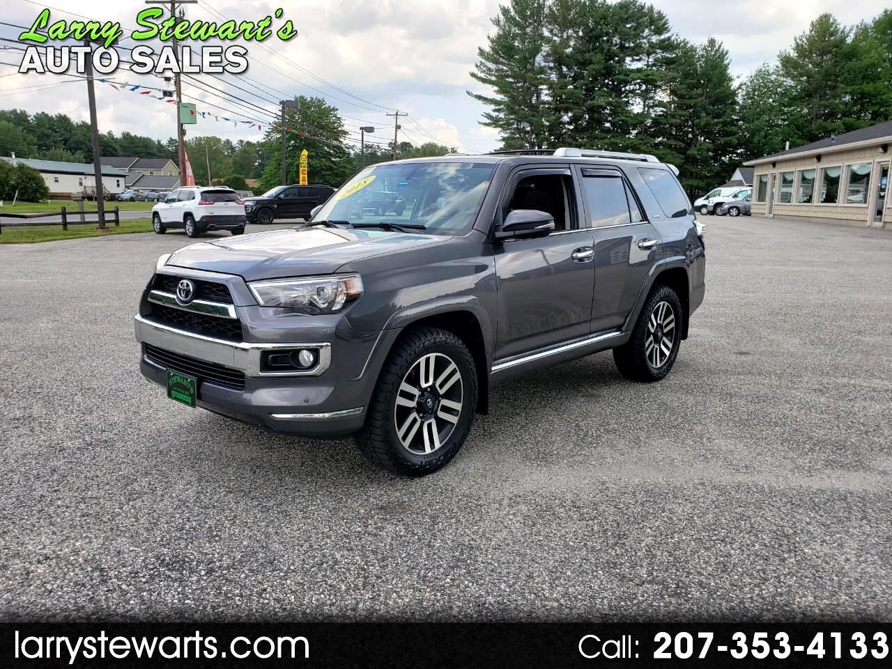 Toyota 4Runner Limited 4WD (Natl) 2018