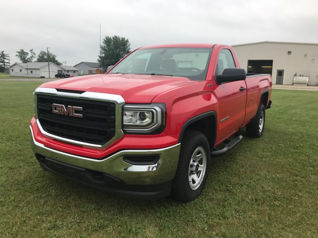 2018 GMC Sierra 1500 4WD Regular Cab Long Box