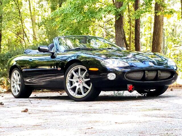 2002 Jaguar XK-Series XKR 100 Convertible