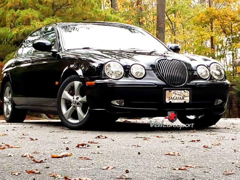 2003 Jaguar S-Type 3.0 SPORT 5 sp MANUAL transmission