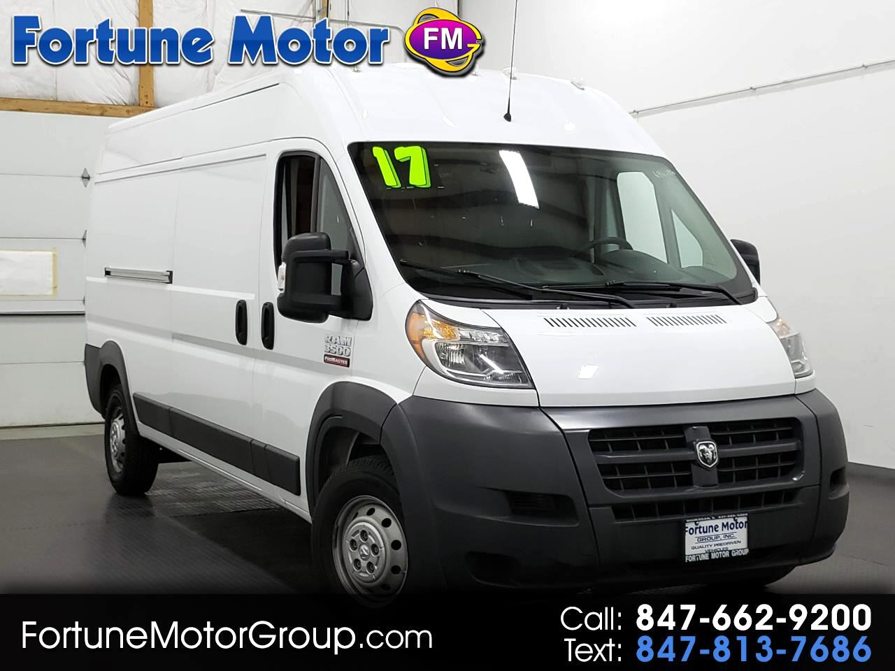 2017 RAM Promaster 3500 High Roof Tradesman 159-in. WB