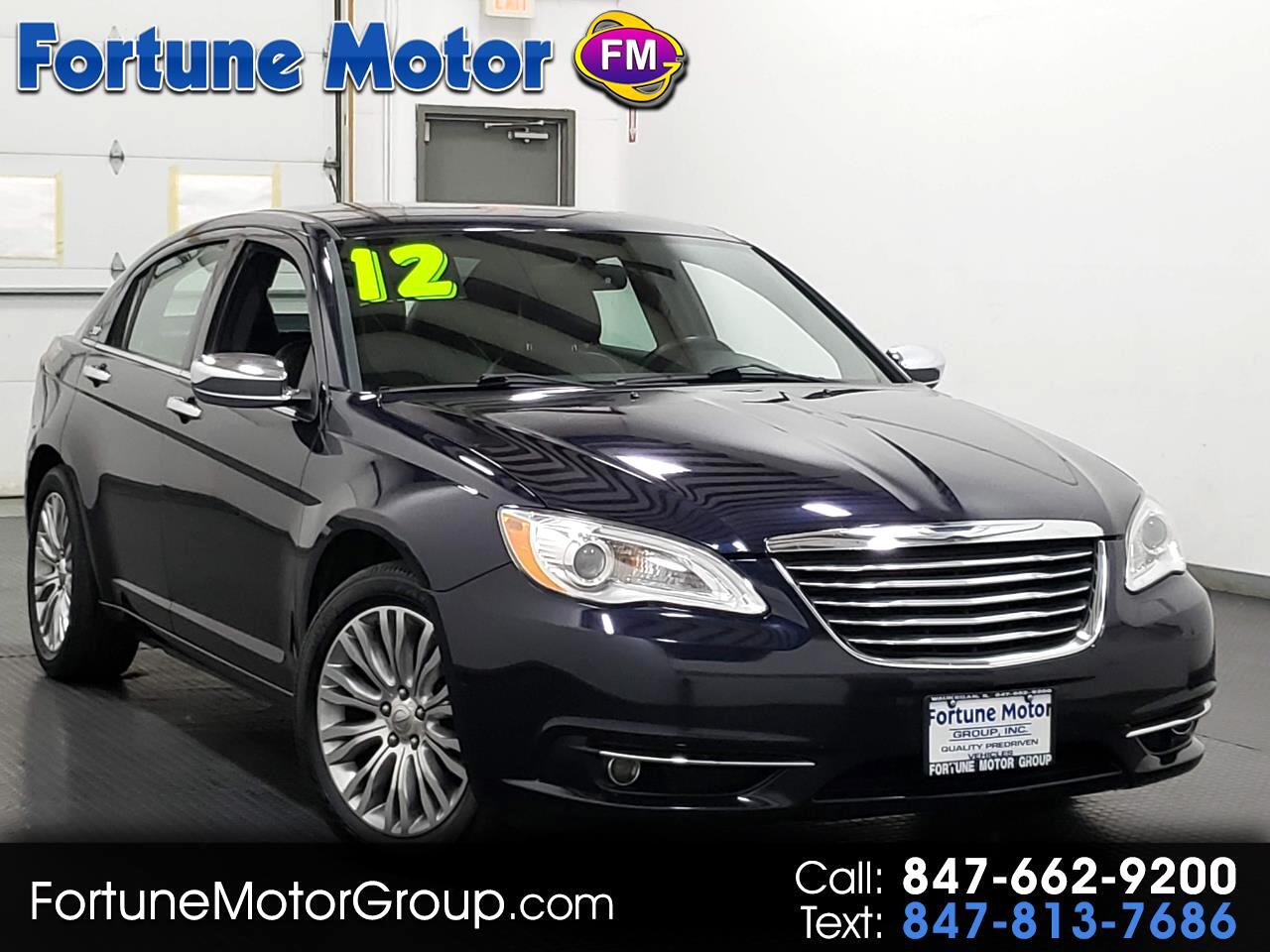 Used 2012 Chrysler 200 Limited For Sale In Waukegan Il