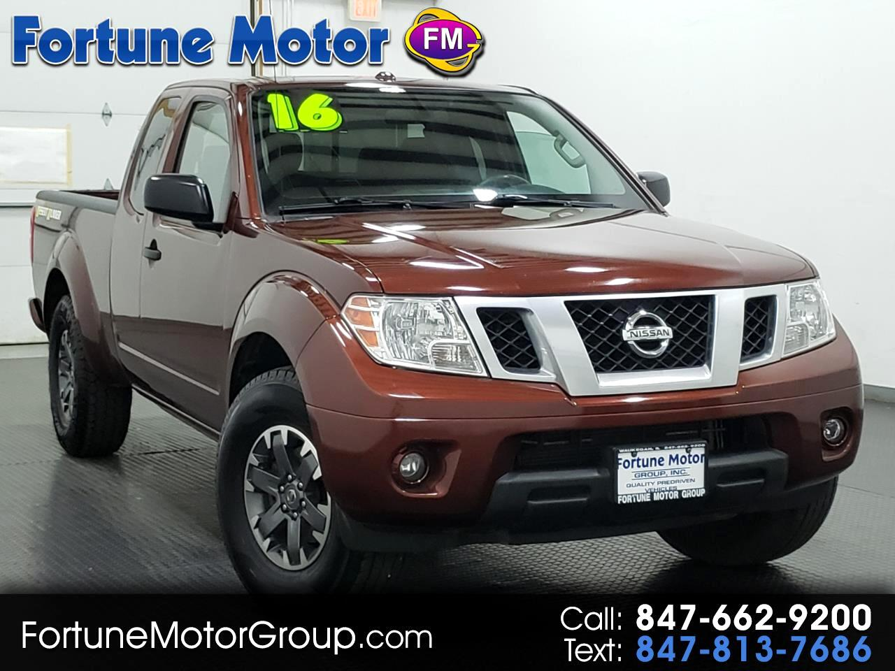 2016 Nissan Frontier Desert Runner King Cab 5AT 2WD