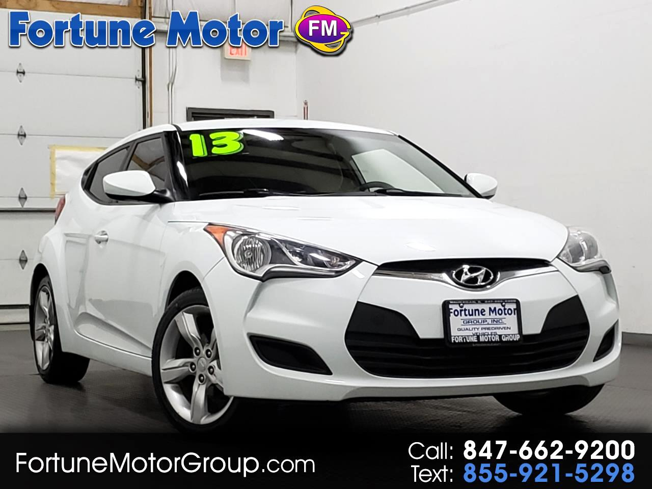 2013 Hyundai Veloster 3dr Cpe Man w/Gray Int