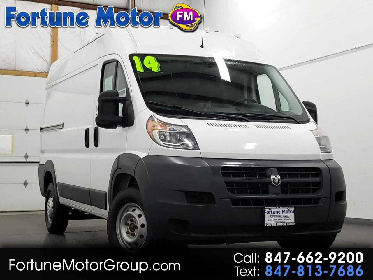 2014 RAM Promaster 1500 High Roof Tradesman 136-in. WB