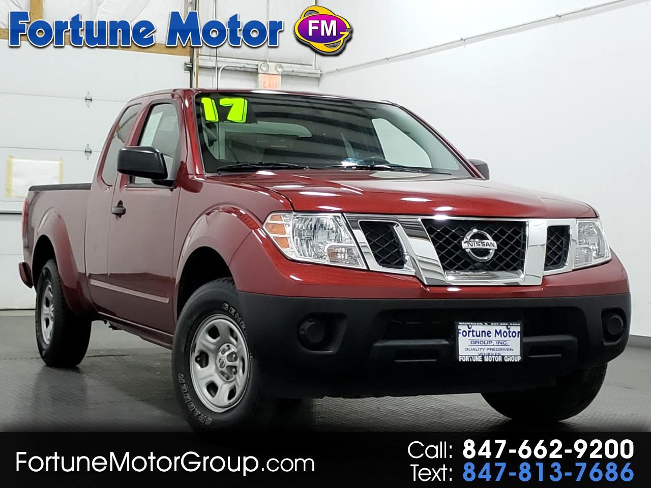 Nissan Frontier S King Cab I4 5AT 2WD 2017