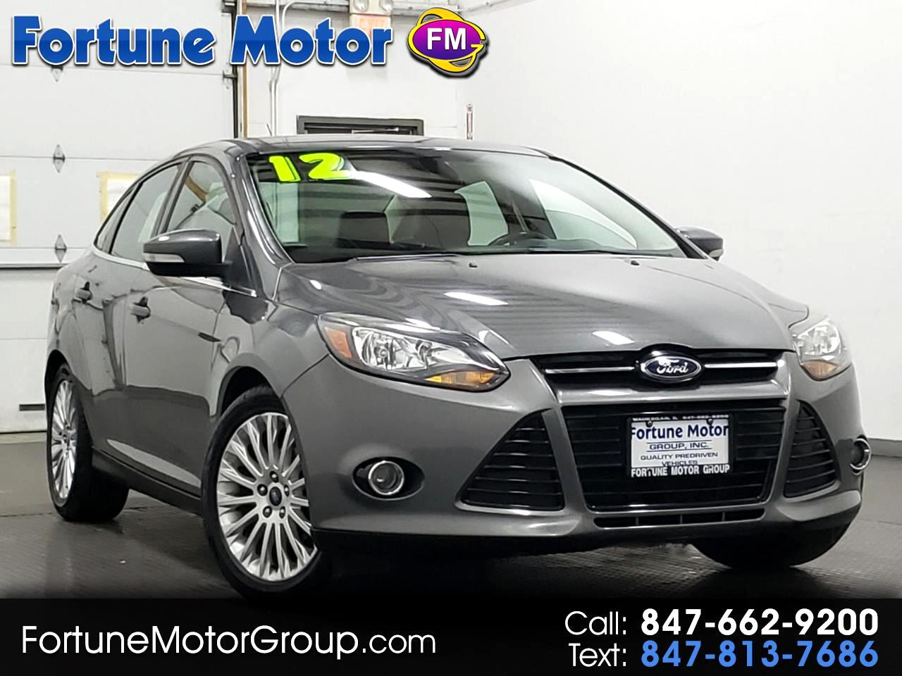 Ford Focus Titanium Sedan 2012