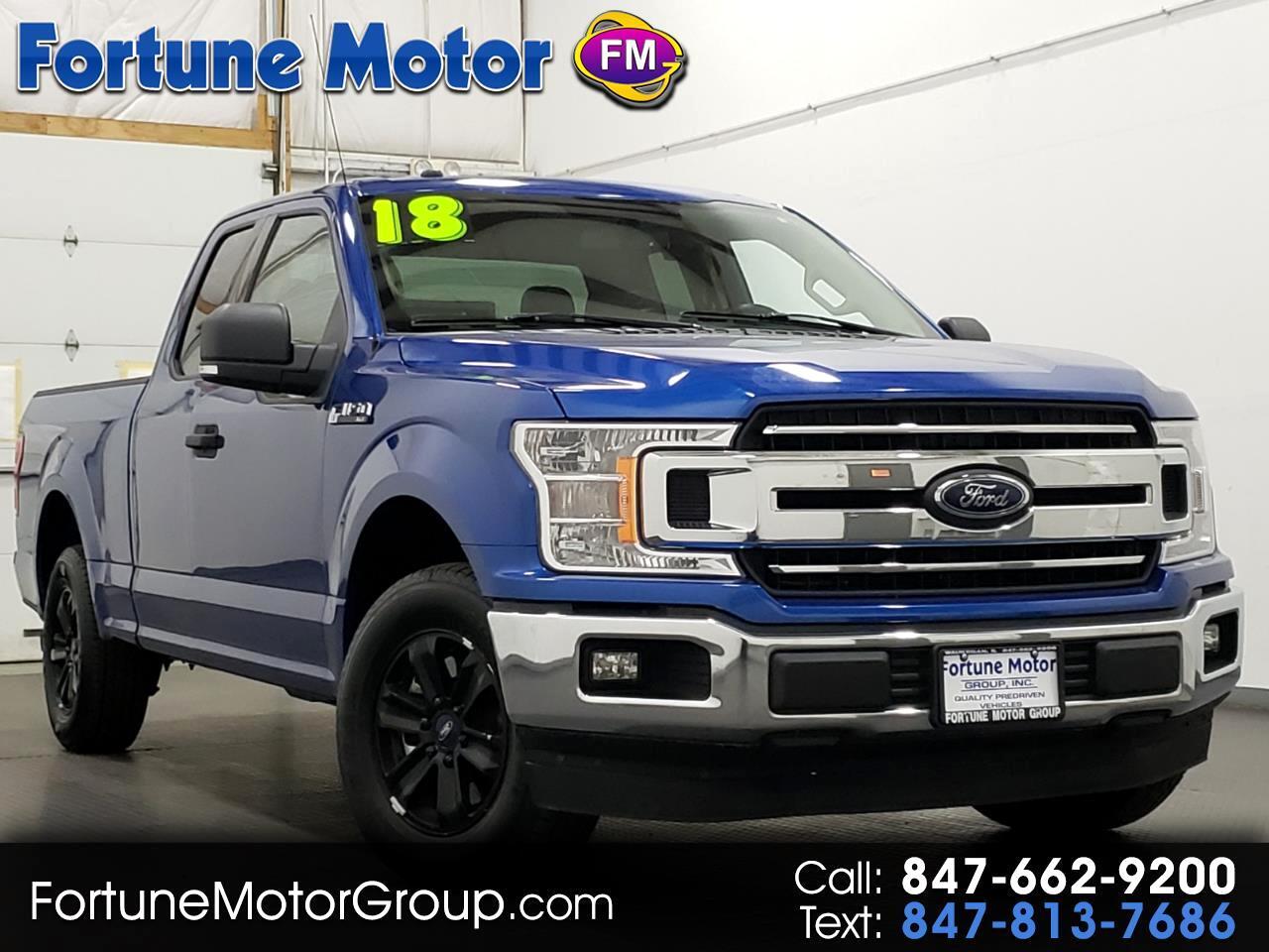"Ford F-150 2WD SuperCab 145"" XLT 2018"