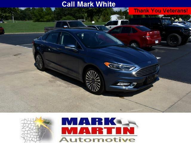 used 2018 ford fusion platinum for sale in batesville ar 72501 mark martin ford. Black Bedroom Furniture Sets. Home Design Ideas