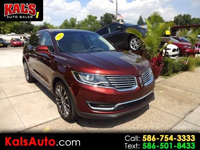 Lincoln MKX Reserve AWD 2016