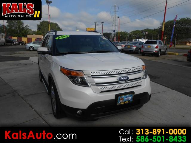 used 2013 ford explorer limited 4wd for sale in detroit mi 48234 kal s auto sales ii kal s auto sales