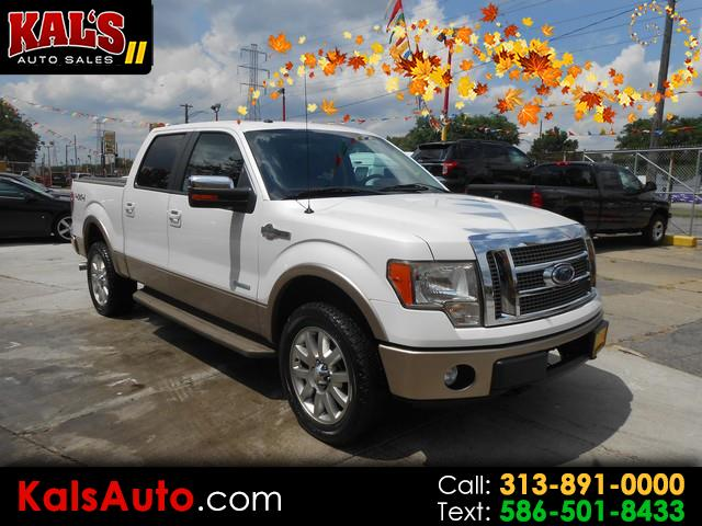 2011 Ford F-150 King Ranch SuperCrew 6.5-ft. Bed 4WD