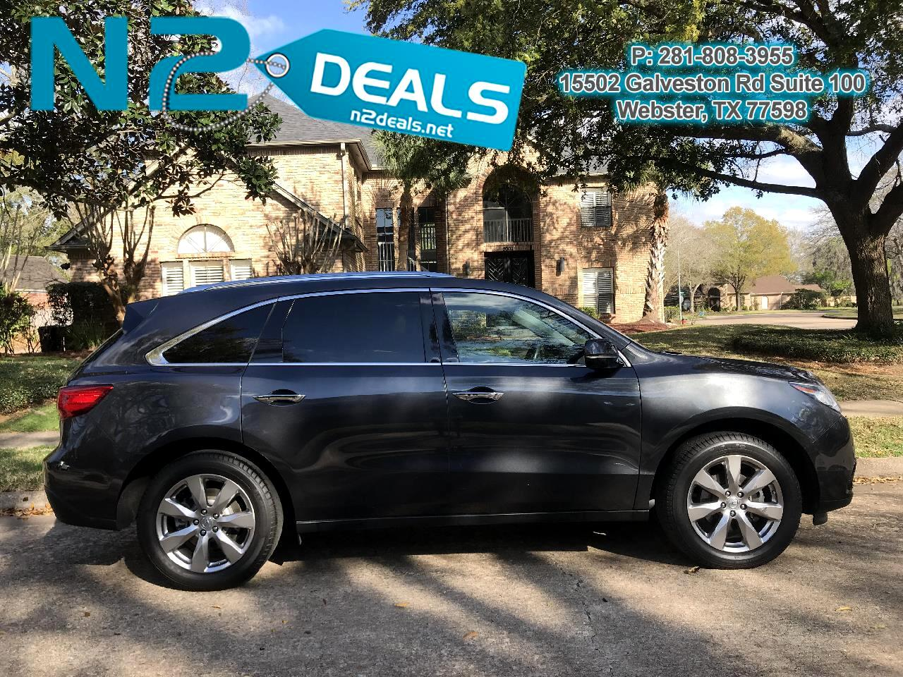 Acura MDX 9-Spd AT w/ Tech, Entertainment & AcuraWatch Plus 2016