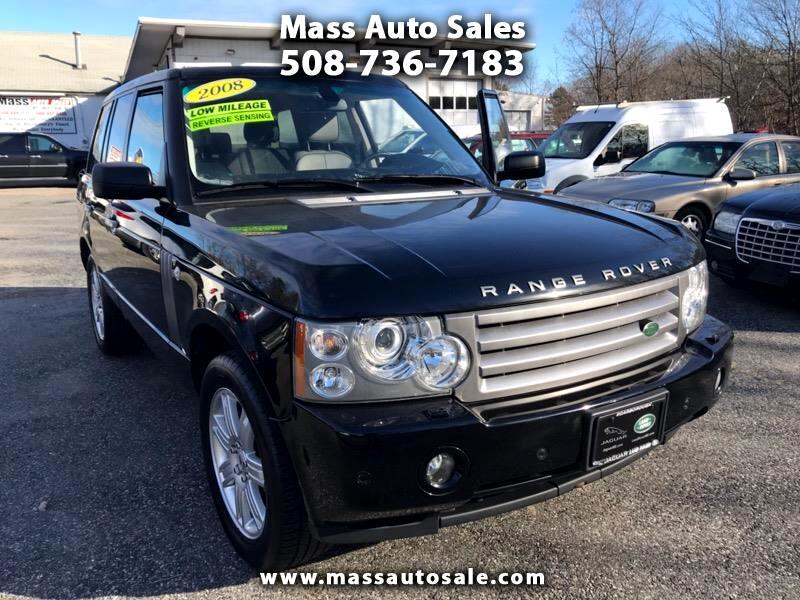 2008 Land Rover Range Rover HSE