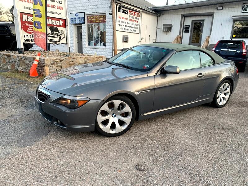 BMW 6-Series 645Ci Convertible 2005