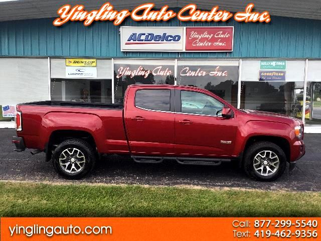2018 GMC Canyon ALL TERRAIN CREW CAB 4WD LONG BED