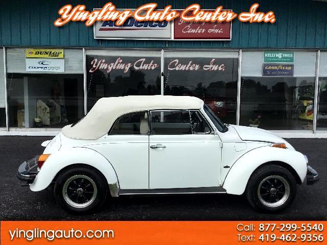 1977 Volkswagen Beetle Convertible 1.6 L  FI