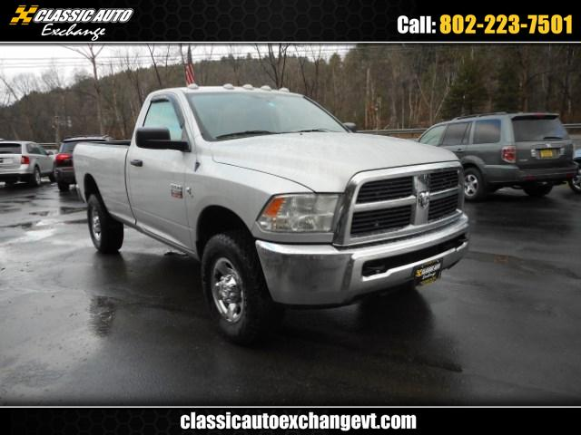 2012 Dodge Ram 2500 Reg. Cab Long Bed 4WD
