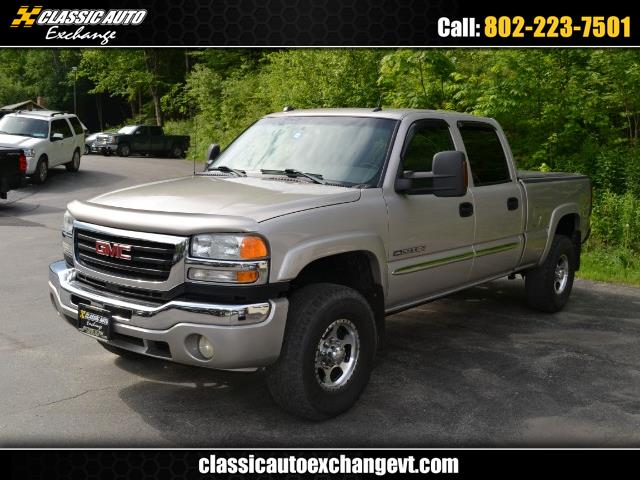 2005 GMC Sierra 2500HD SLE2 Crew Cab Std. Box 4WD