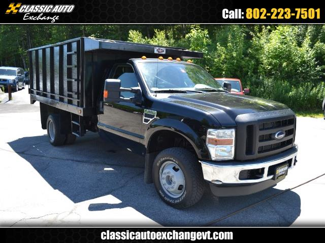 2008 Ford F-350 SD REG CAB XL DUMP BODY