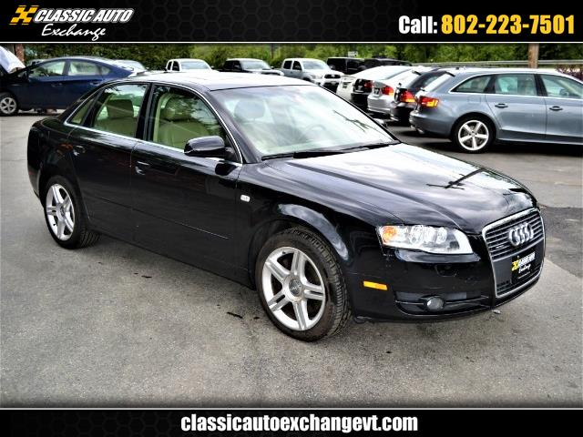2007 Audi A4 2.0 T quattro with Tiptronic
