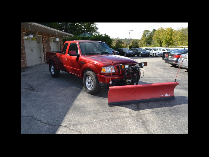 2011 Ford Ranger Supercab XLT 4WD W/plow