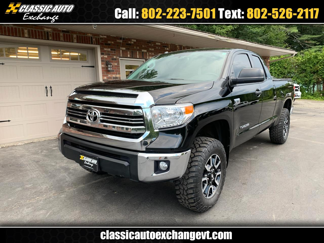 2017 Toyota Tundra SR5 5.7 V8 DOUBLE CAB TRD OFF ROAD 4WD