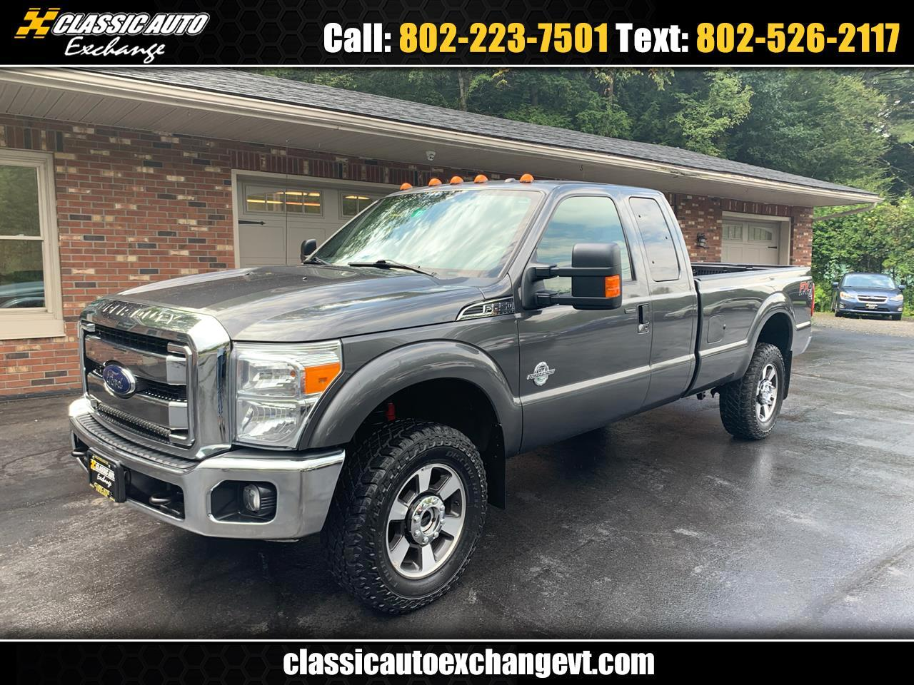 Ford F-250 SD Lariat SuperCab Long Bed 4WD 2015
