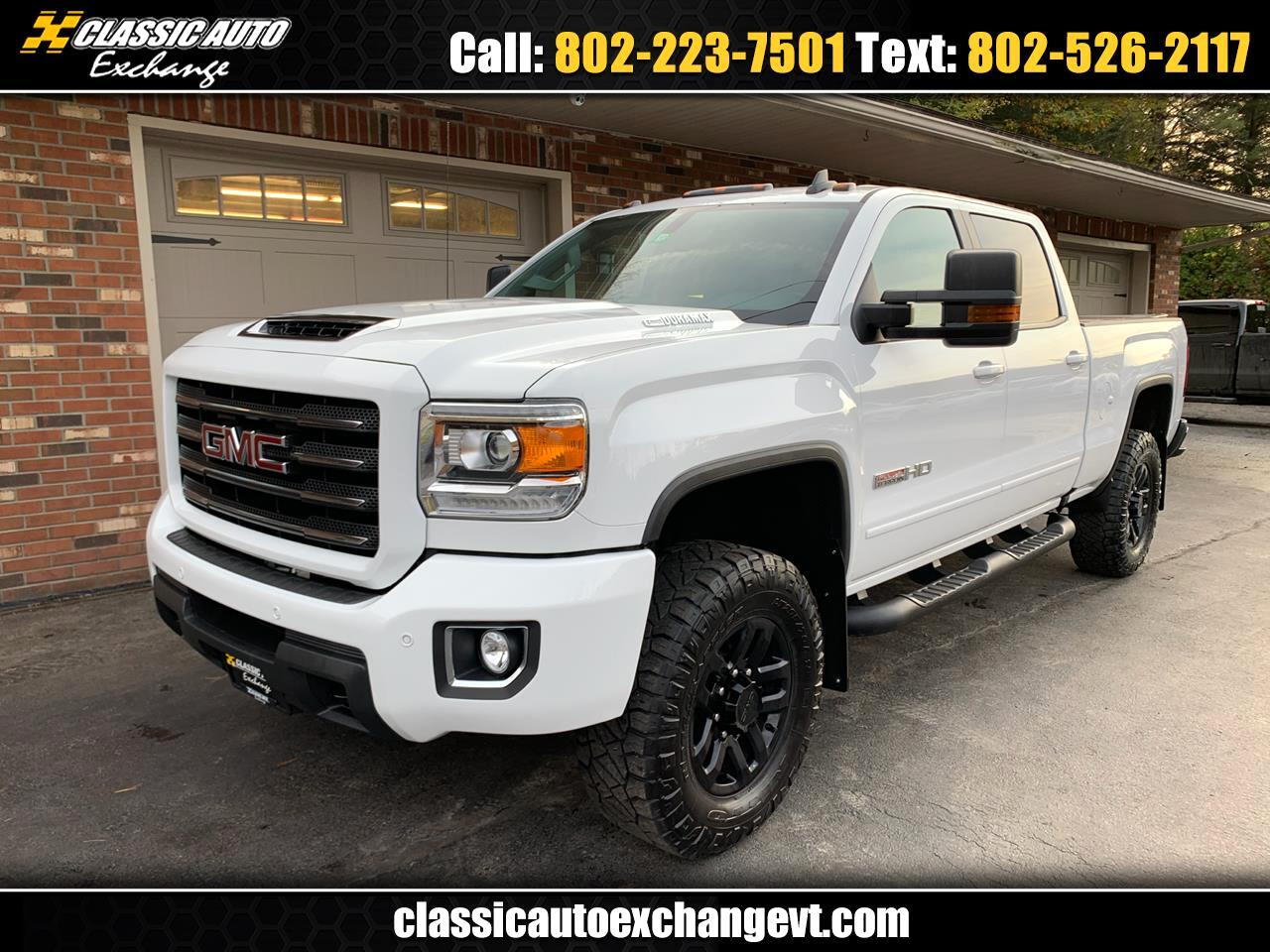 2017 GMC Sierra 2500HD SLT CREW CAB 4WD ALL TERRAIN PACKAGE