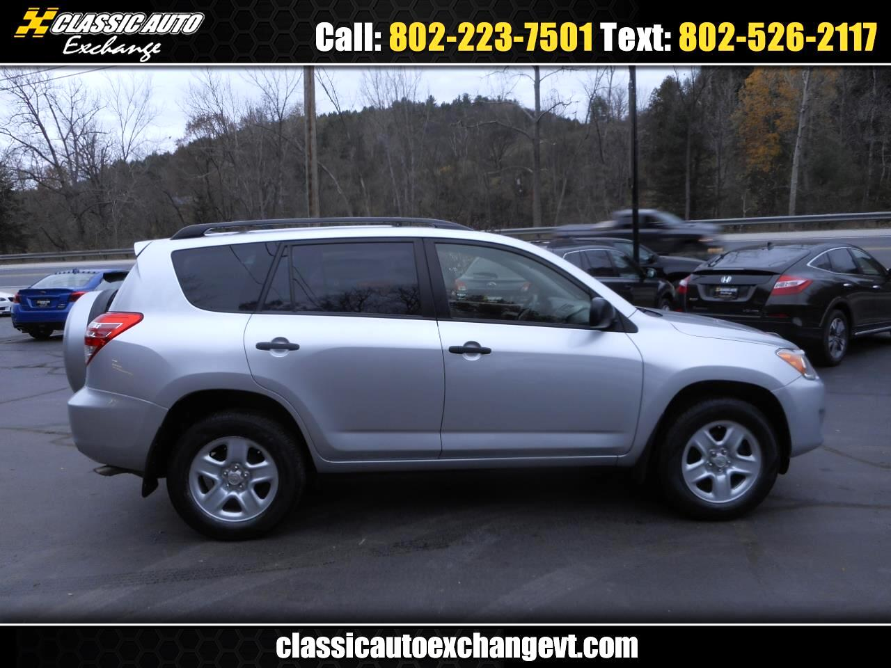 Toyota RAV4 Base I4 4WD with 3rd Row 2012