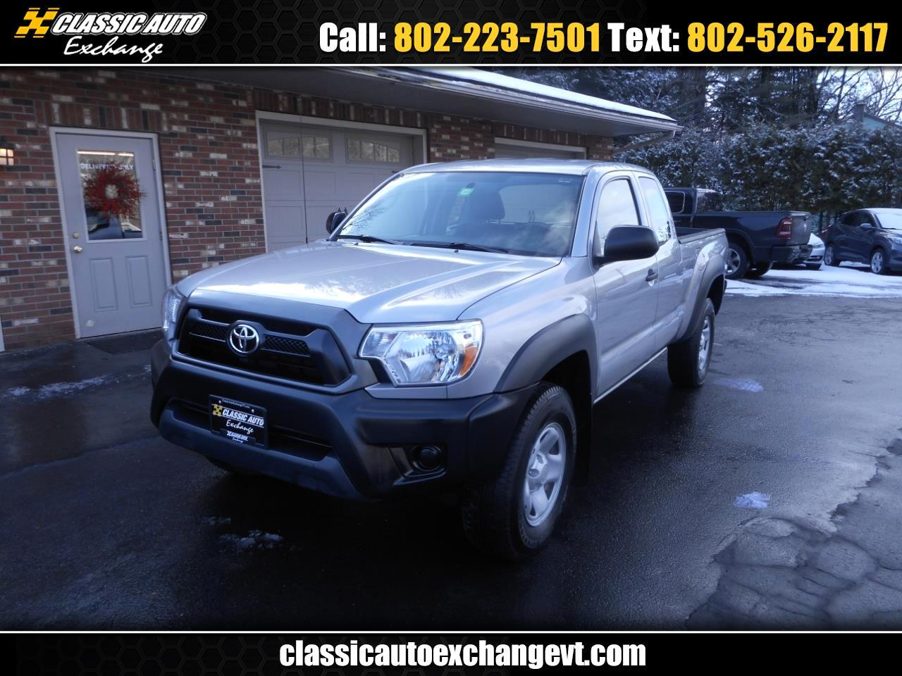 used 2015 toyota tacoma access cab i4 5mt 4wd for sale in berlin montpelier vt 05602 classic auto exchange classic auto exchange
