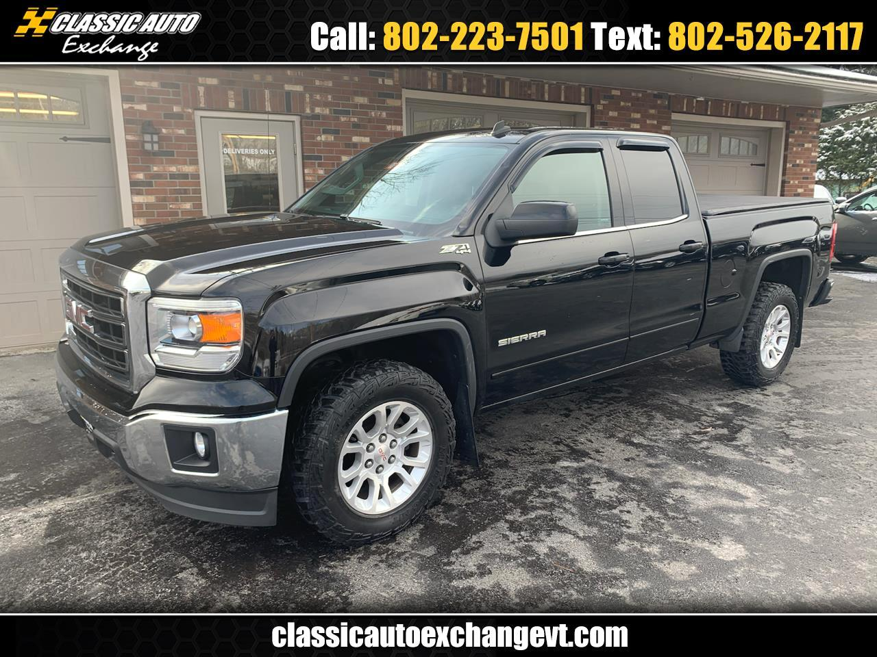 Gmc Dealers In Vt >> Used 2014 Gmc Sierra 1500 Slt Ext Cab 4wd For Sale In Berlin