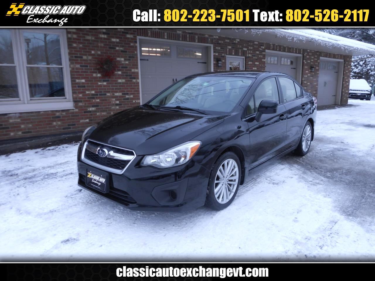 Subaru Impreza 2.0i Premium 4-Door w/All Weather Package 2014
