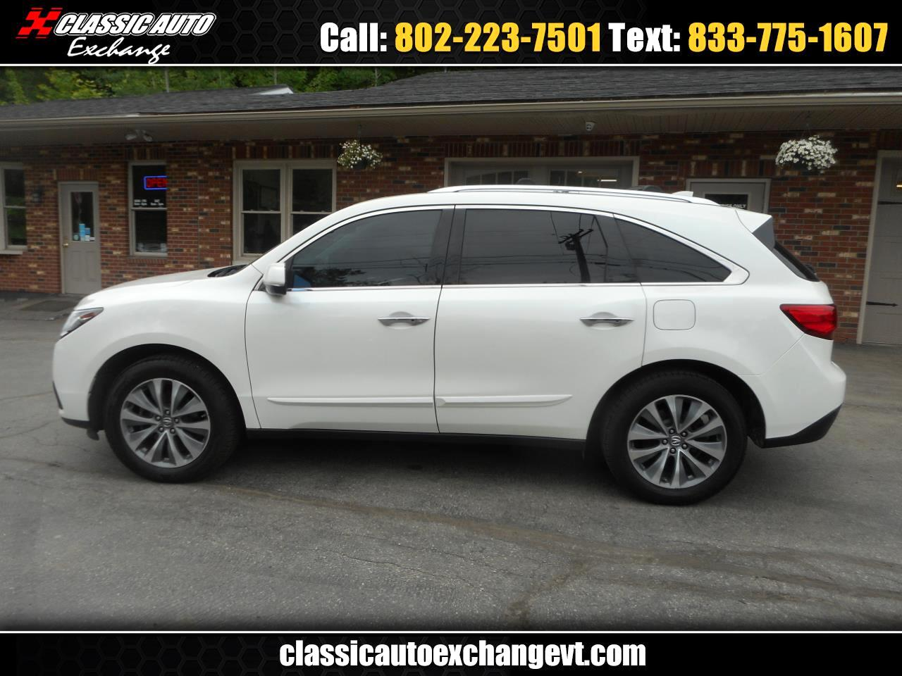 Acura MDX SH-AWD 6-Spd AT w/Tech and Entertainment Package 2014