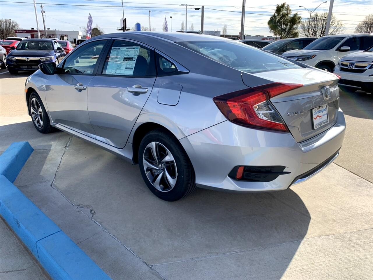 2019 Honda Civic LX Honda Sensing Sedan CVT