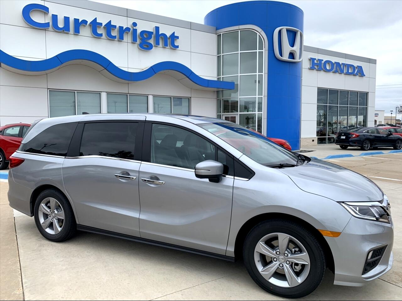 2019 Honda Odyssey 5dr EX-L AT with RES & NAVI
