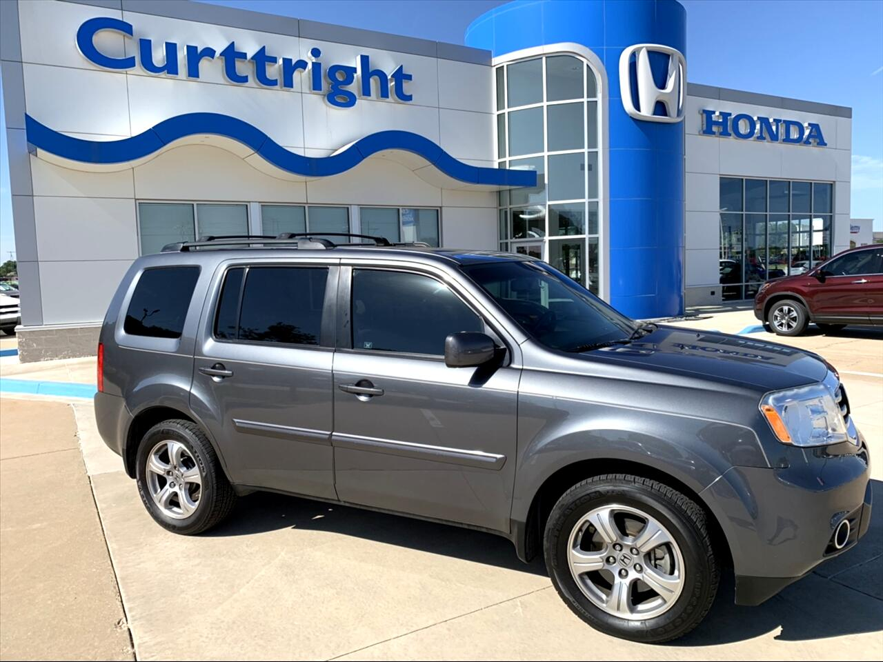 2012 Honda Pilot EX-L 2WD 5-Spd AT with Navigation