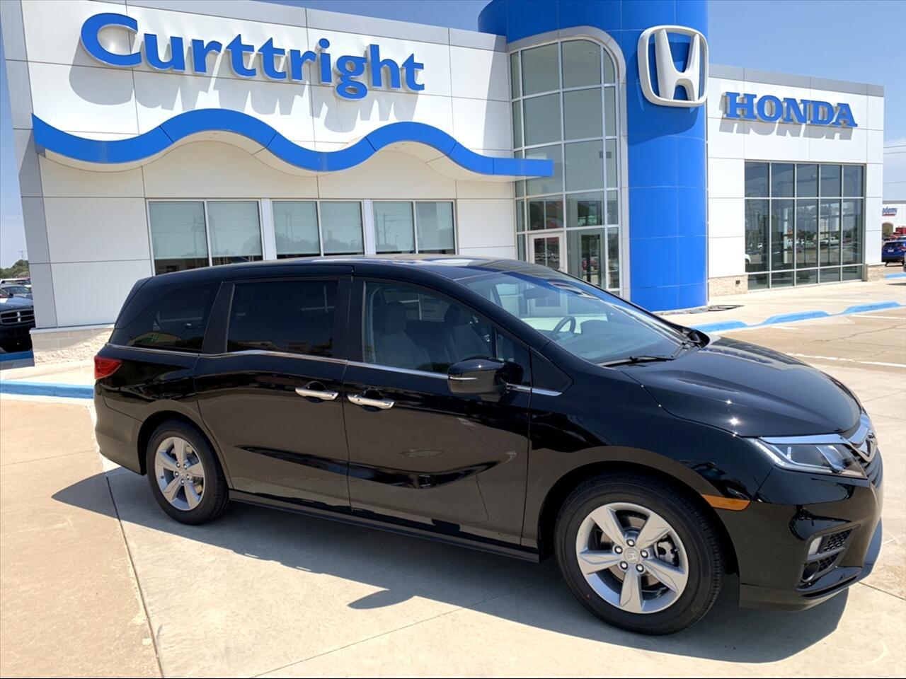 2019 Honda Odyssey 5dr EX-L RES w/DVD/Leather