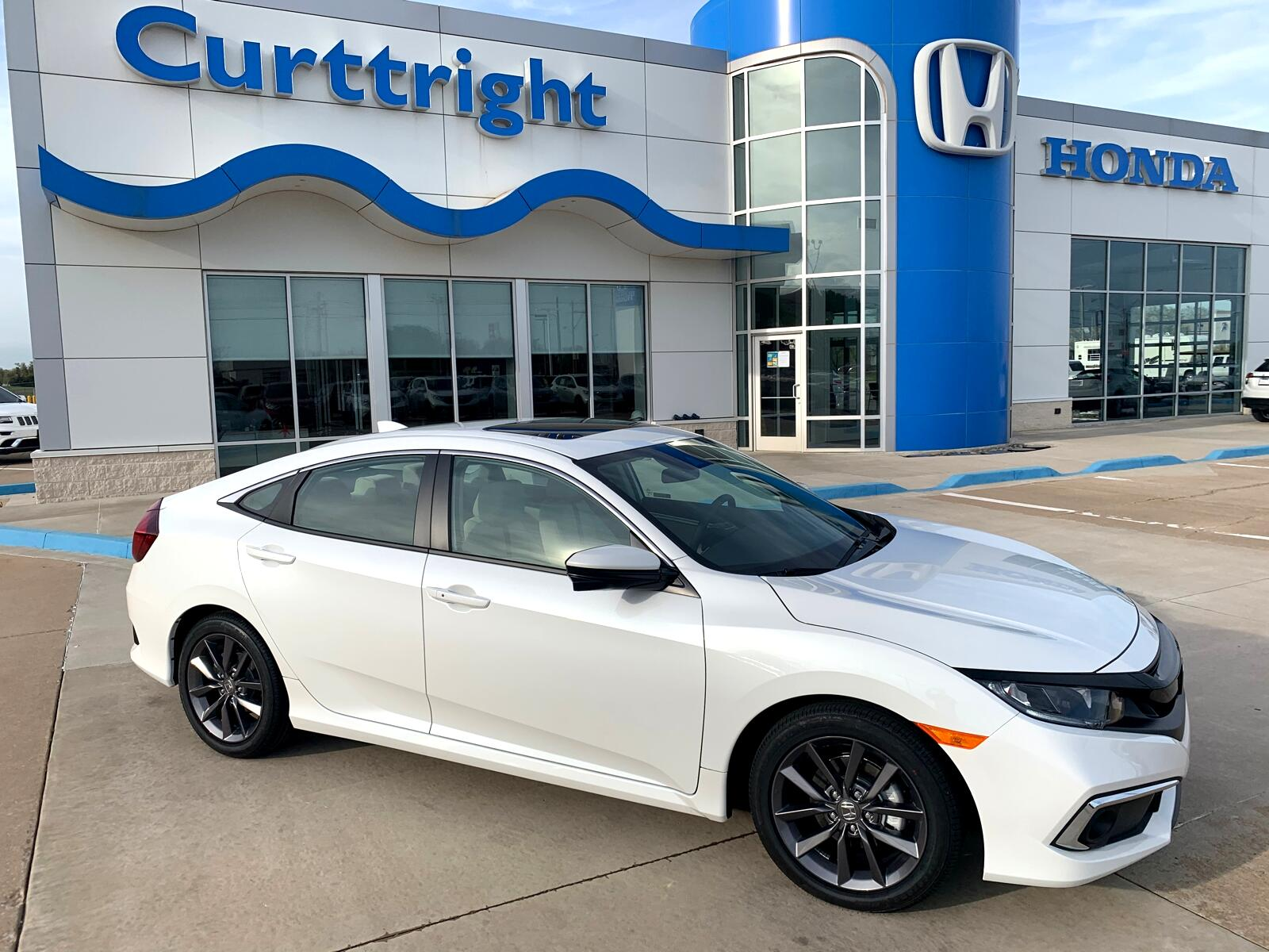 Honda Civic EX Sedan CVT 2020