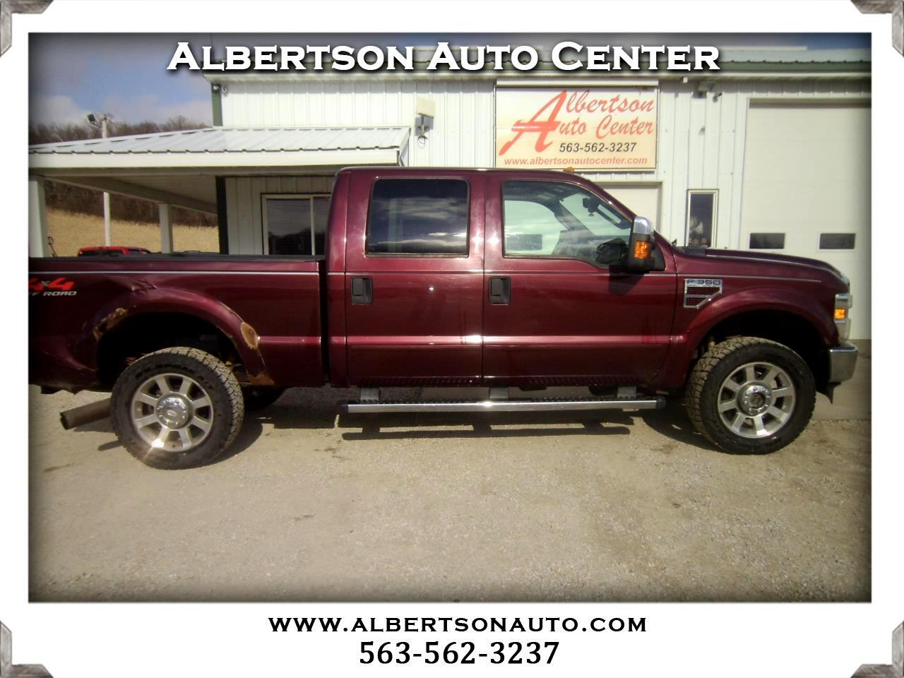 2009 Ford F-350 SD Lariat Crew Cab Long Bed 4WD