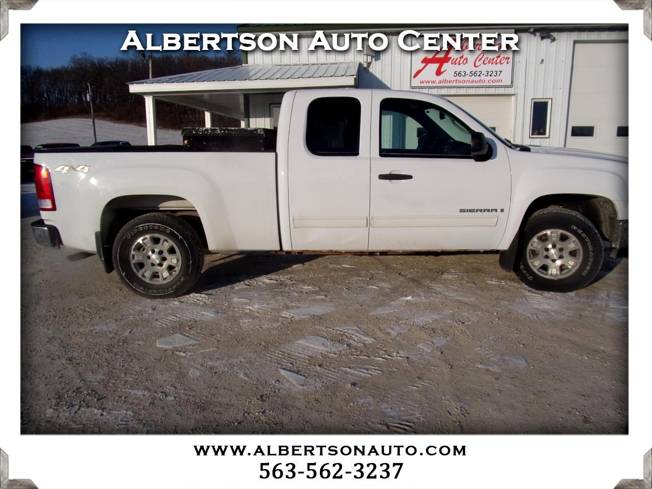 GMC Sierra 1500 SLE1 Ext. Cab Short Box 4WD 2008