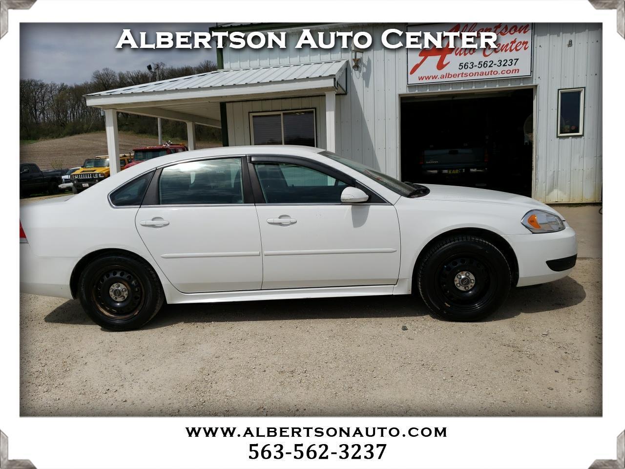 Chevrolet Impala Police 4dr Sdn Police 2012