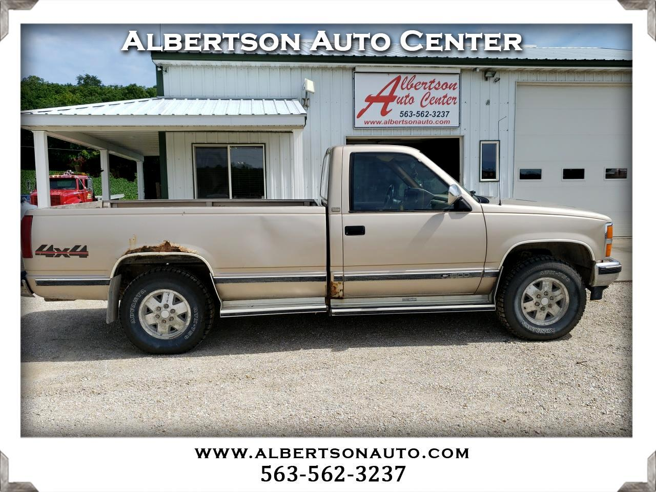 "Chevrolet 1/2 Ton Pickups Fleetside 117.5"" 4WD 1989"