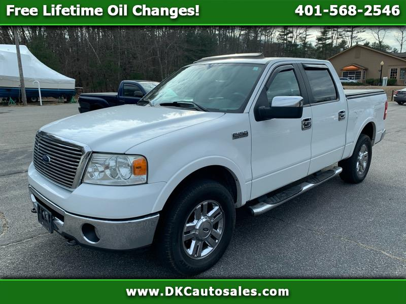 Ford F-150 Lariat SuperCrew Short Bed 4WD 2007