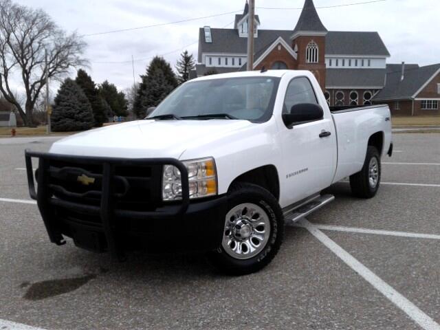 2009 Chevrolet Silverado 1500 Work Truck Long Box 4WD