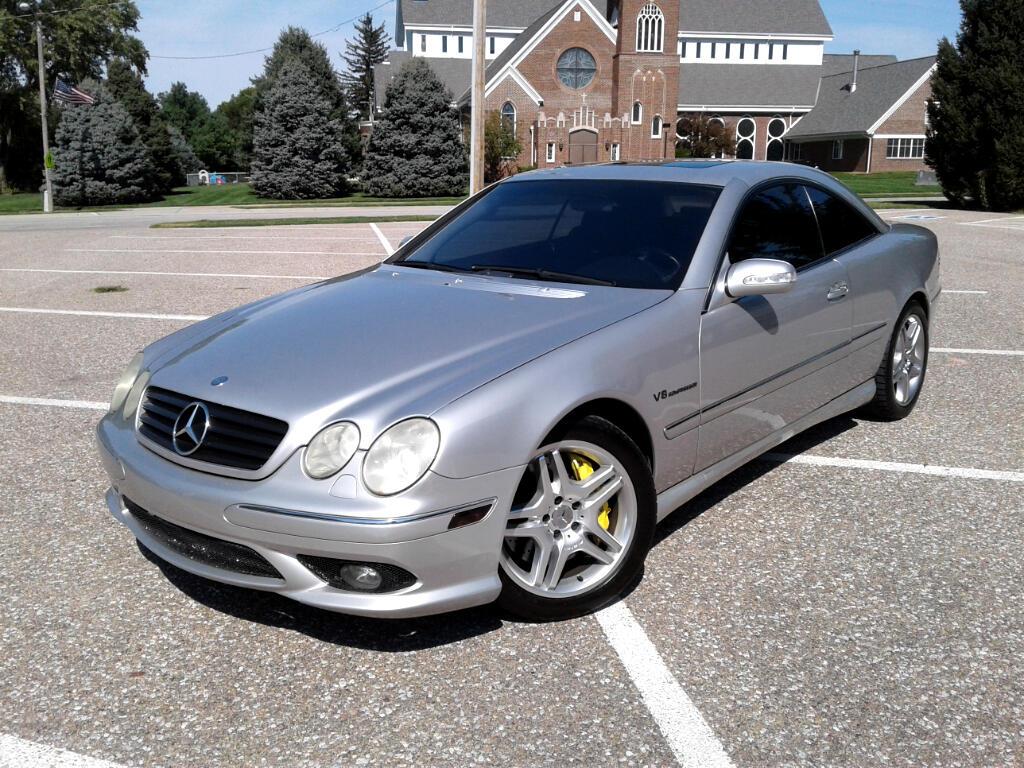 2003 Mercedes-Benz CL-Class 2dr Cpe 5.5L AMG