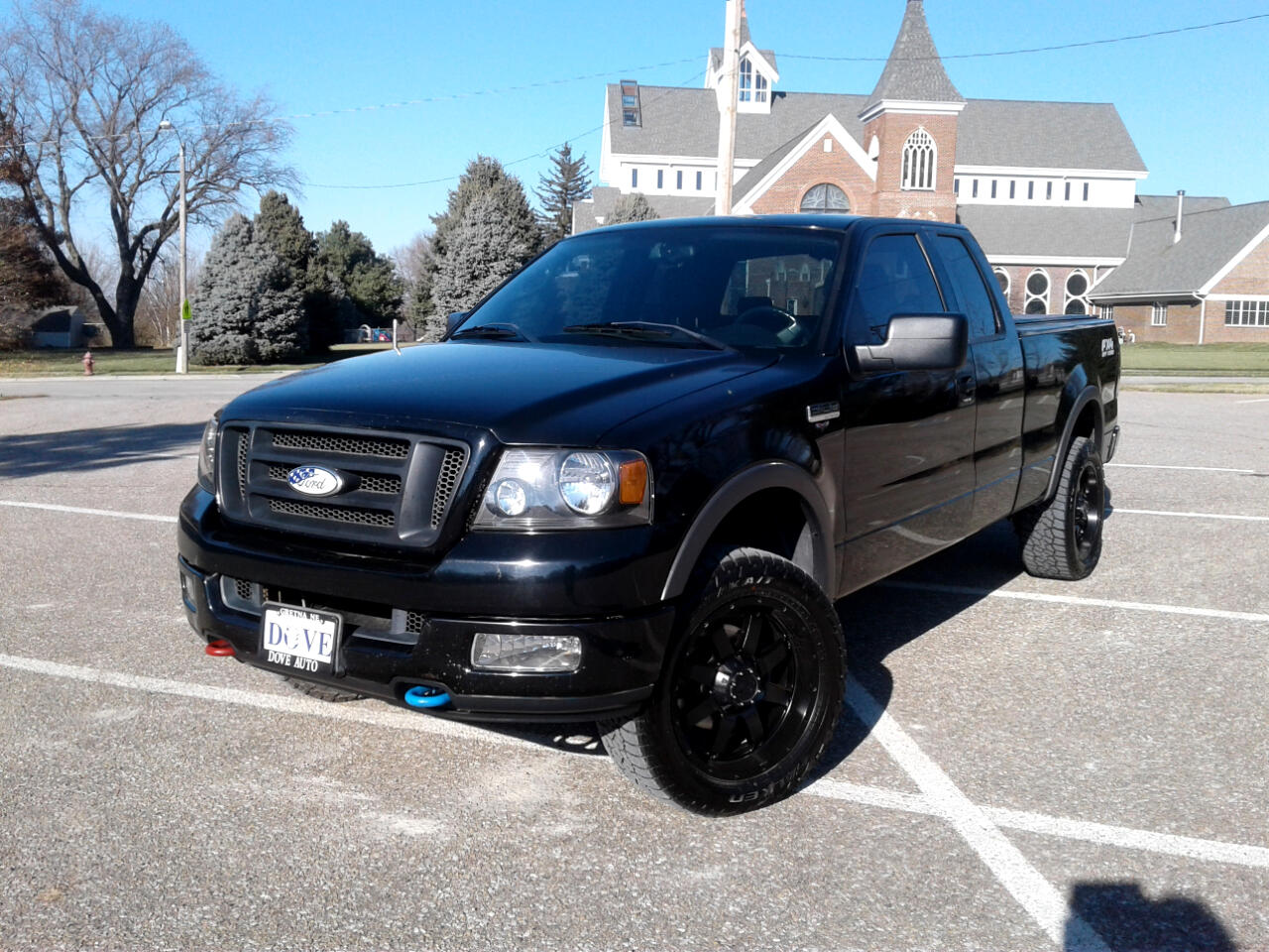 """2004 Ford F-150 Supercab 145"""" FX4 4WD"""